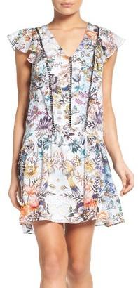 Women's Adelyn Rae Print Shift Dress $120 thestylecure.com