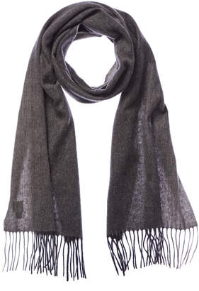Qi Grey Ombre Cashmere Scarf