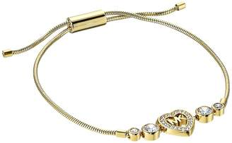 Michael Kors Love Is In The Air Heart and Crystal Slider Bracelet Bracelet