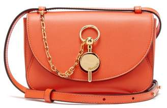 J.W.Anderson Nano Keyts Leather Cross Body Bag - Womens - Orange
