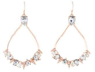 Alexis Bittar Mosaic Futuristic Teardrop Earrings