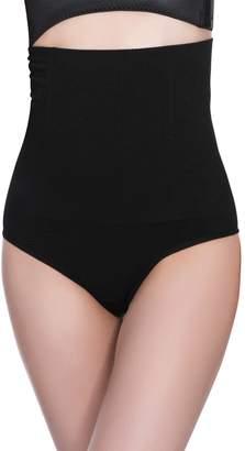 167b2f7e0b185 Aivtalk Women Compression Tummy Control Thong Shapewear Butt Lifter Thigh  Slimmer Boyshort Shapewear XL 2XL