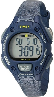 Timex - Ironman Classic 30 Mid-Size Resin Strap Watches $55 thestylecure.com