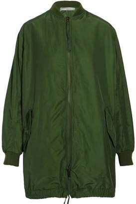Vince Oversized Cotton-blend Faille Coat