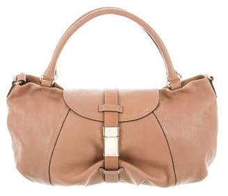 Max Mara Leather Convertible Satchel