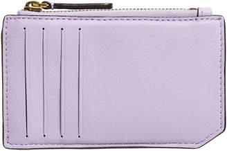 Mackage Chac Top Zip Leather Card Case