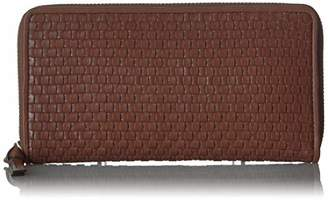 Cole Haan Women's Bethany Woven Leather Zip Around Wallet