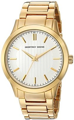 Geoffrey Beene Men 's Quartz Metal and Alloy Dress Watch , Color : gold-toned (モデル: gb8102gd )