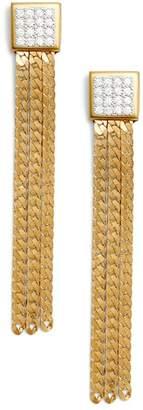 SANDY HYUN Chain Earrings