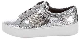 Michael Kors Metallic Studded Sneakers
