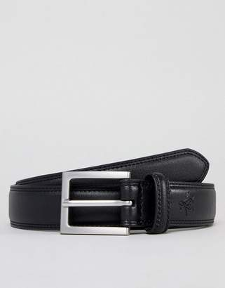 Original Penguin Double Stitch Skinny Belt