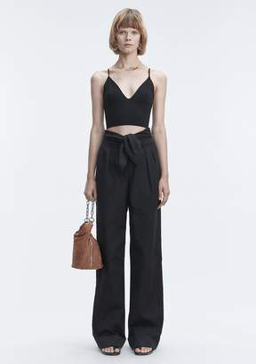 Alexander Wang EXCLUSIVE TRIANGLE BRALETTE TOP