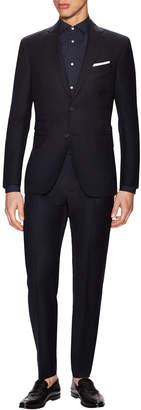 Michael Bastian Gray Label Wool Sharkskin Notch Lapel Suit