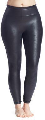 Spanx Plus Faux-Leather Leggings $102 thestylecure.com