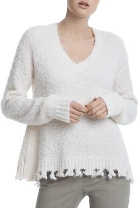 ATM Anthony Thomas Melillo Destroyed Chenille Sweater