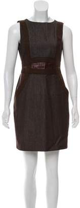 Akris Wool Sleeveless Dress