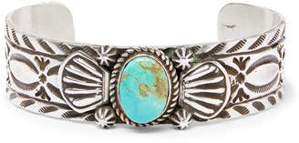 Foundwell Silver Turquoise Cuff