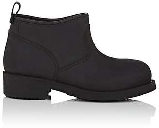 Barneys New York Women's Brushed Rubber Ankle Boots