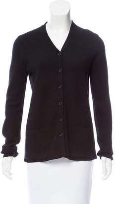 TSE Long Sleeve Button-Up Cardigan