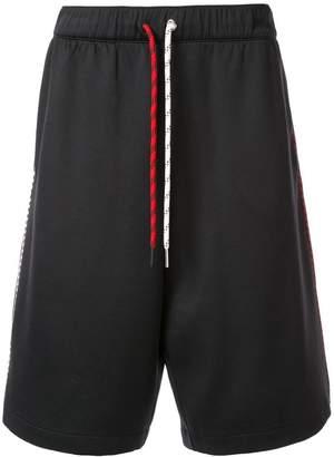 Moncler multicoloured drawstring shorts