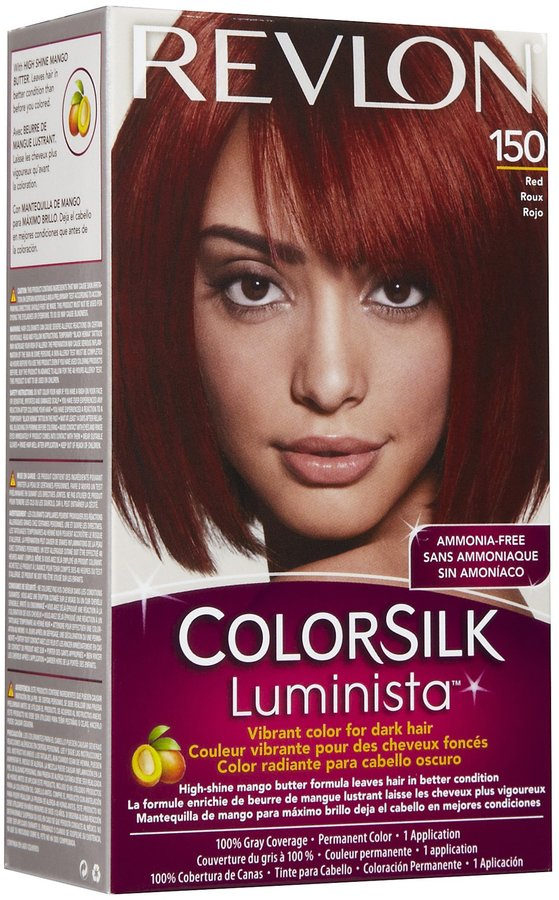 Revlon Colorsilk Luminista Permanent Hair Color-Golden Brown