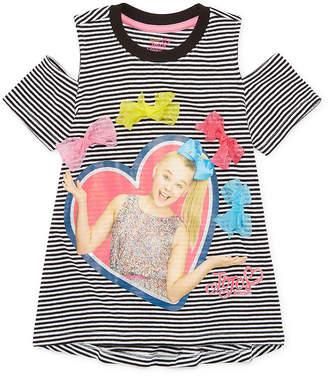 Jo-Jo JOJO Jojo Siwa Crew Neck Short Sleeve Tunic Top - Big Kid Girls