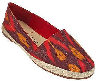 Sole Society Printed Espadrille Slip-ons- Xander