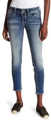 Vigoss Dark Wash Stitch Detail Jeans