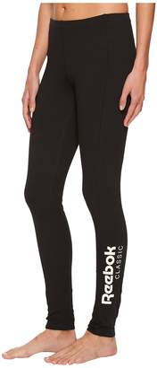 Reebok Classic Leggings Women's Casual Pants
