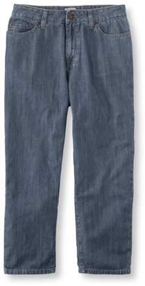 L.L. Bean L.L.Bean Lightweight Denim Cropped Jeans