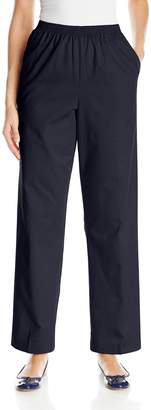 Alfred Dunner Women's Proportioned Medium Twill Pant