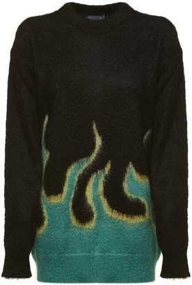 Prada Flame Sweater