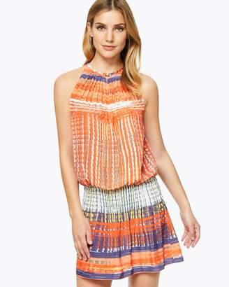 Printed Paris Sleeveless Dress