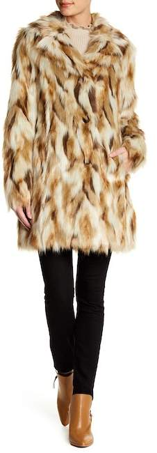 7 For All Mankind 7 For All Mankind Faux Fur Coat