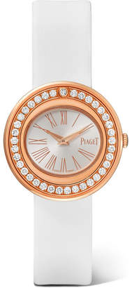 Piaget Possession 29mm Satin, 18-karat Rose Gold Diamond Watch