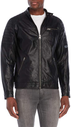 Buffalo David Bitton Jaydeen Faux Leather Jacket