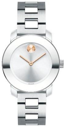 Women's Movado Bold Bracelet Watch, 30Mm $495 thestylecure.com