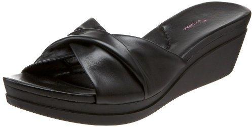 Bandolino Women's Yeva Wedge Slide Sandal