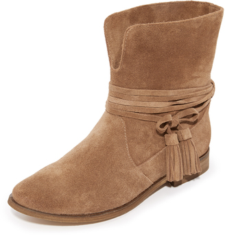 Splendid Pennie Tassel Booties $178 thestylecure.com