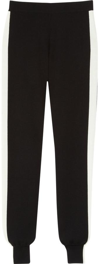 Alexander McQueen Intarsia wool leggings