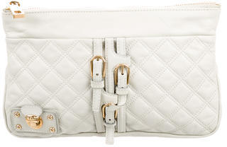 Marc JacobsMarc Jacobs Quilted Leather Clutch