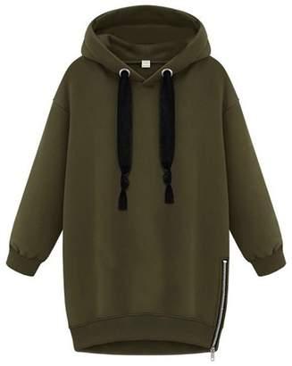 RDINFGUMG Hoodies RDINFGUMG NEW Womens Long Sleeve Hooded Loose Hoodies Sweatshirt XL