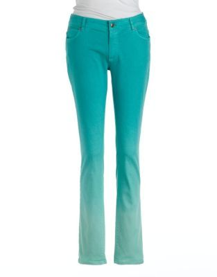 Vince Camuto TWO BY Dip-Dyed Denim Pants