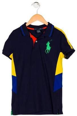 Ralph Lauren Knit Collared Shirt