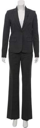 Theory Wool Peaked-Lapel Pant Suit w/ Tags