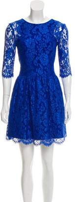 Nicholas Lace Mini Dress