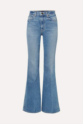 Khaite - Reece High-rise Flared Jeans - Blue