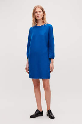 Cos BOILED WOOL JUMPER DRESS