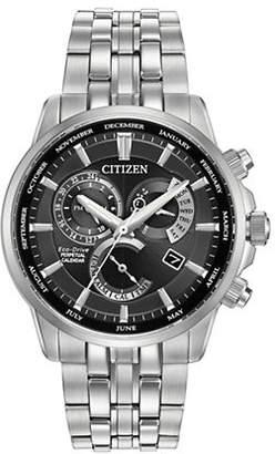 Citizen Perpetual Calendar Calibre 8700 Silvertone Watch