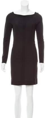Diane von Furstenberg Carita Bateau Neck Dress